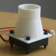 3D printing - fan housing