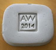 3D printed stamp imprint