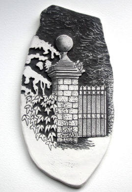 church gate tile