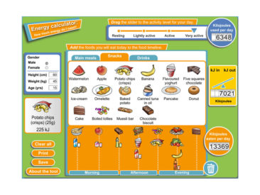 Graphic design - Energy Calculator game