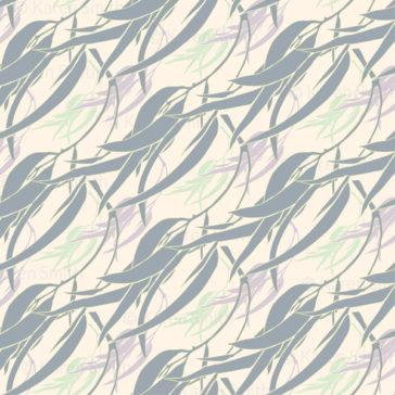 Gum Breezes half drop pattern repeat