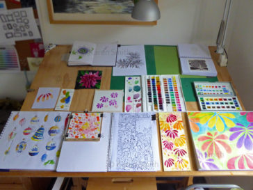 Karen Smith - what's on my drawing board this week? Nov 14 2016