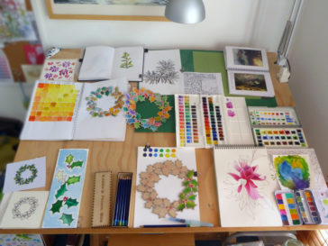 Karen Smith - what's on my drawing board this week? Nov 21 2016
