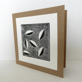 Handmade woodblock print