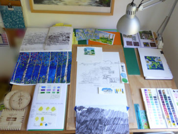 Karen Smith - what's on my drawing board this week? Feb 07 2017
