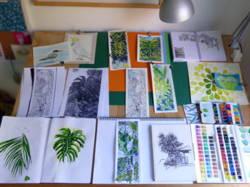 Karen Smith - what's on my drawing board this week? March 17 2017