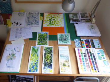 Karen Smith - what's on my drawing board this week? March 02 2017