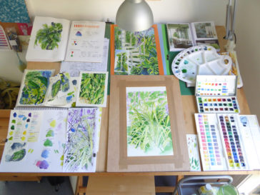 Karen Smith - what's on my drawing board this week? June 24 2017