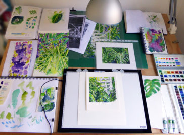Karen Smith - what's on my drawing board this week? Sept 06 2017