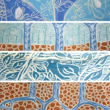 flyer detail ceramics - artist: Sue Davies