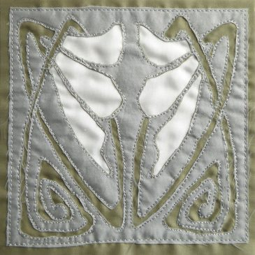 Reverse Applique Snowdrop
