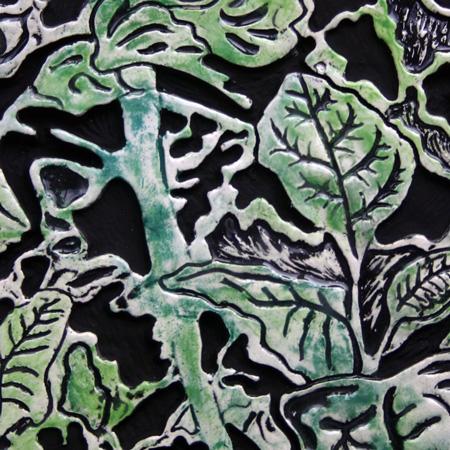 thistle tile detail