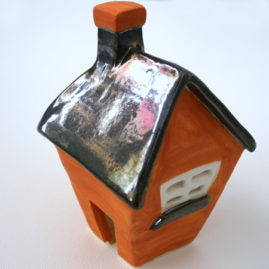 orange pewter house