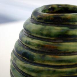 green coil pot