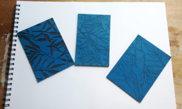 vinyl lino cut patterns