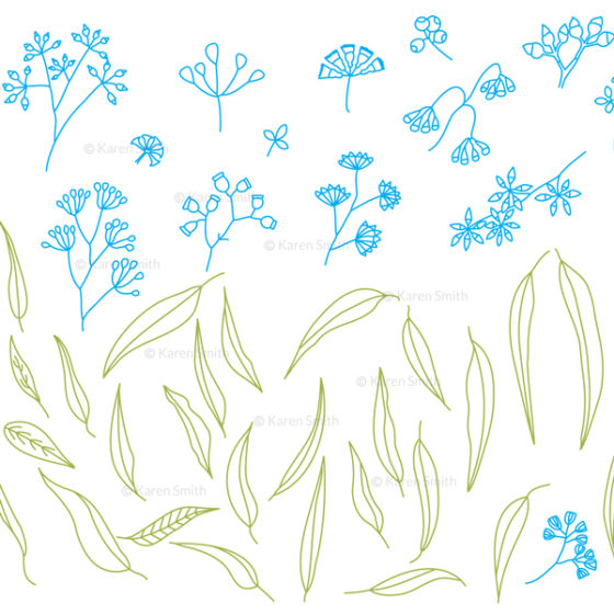 gum doodles vectors