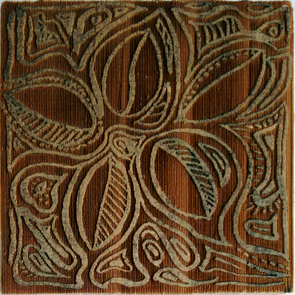 laser cut wood block
