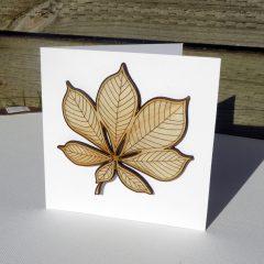 laser cut autumn leaf ©KarenSmith