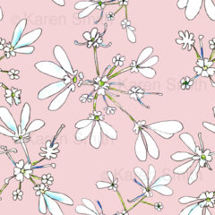 Coriander Pink Fabric