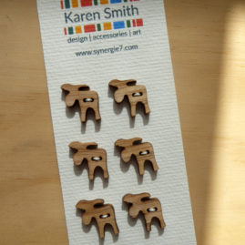moose laser cut button ©KarenSmith