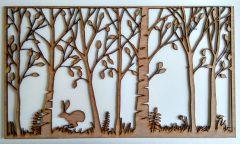 woodland frieze