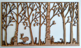 woodland frieze