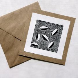 Handmade woodblock print ©KarenSmith