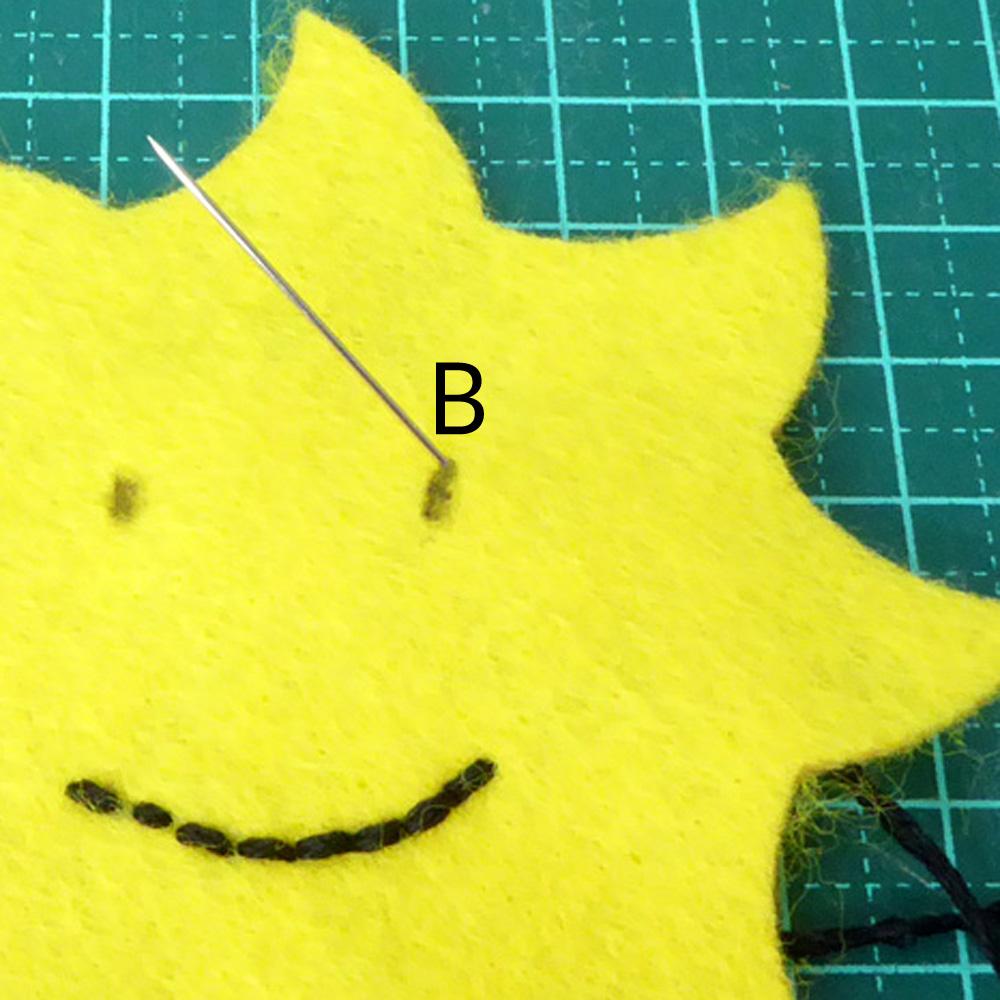bullion stitch