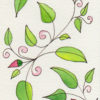 Tall Format Leaves & Vines 1, ©KarenSmith