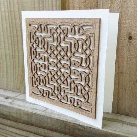 Lasercut Celtic Card ©KarenSmith