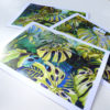 Tropical Leaf Greeting Cards Trio ©KarenSmith
