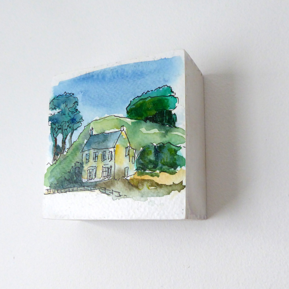 Little House On Wood Frame ©KarenSmith