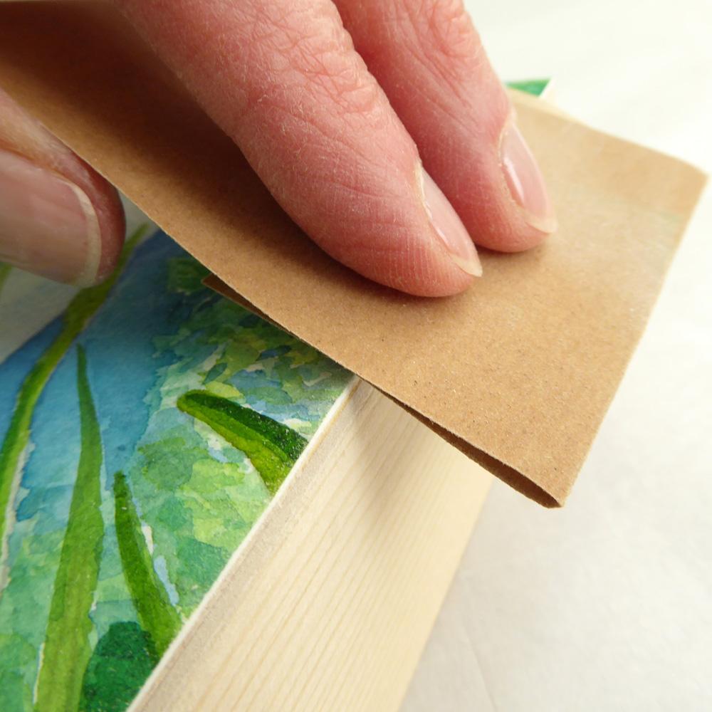 Saltbush Framing - Sanding ©KarenSmith