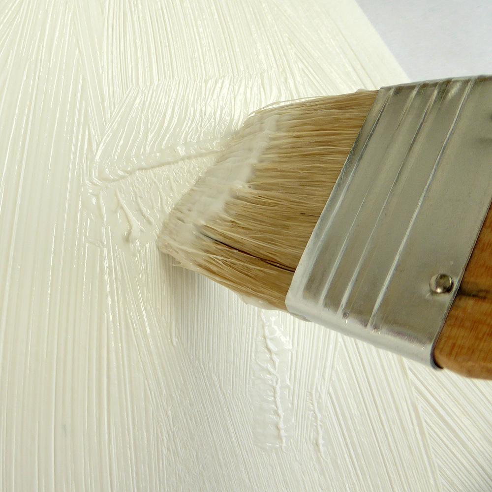 Saltbush Framing - Applying Gel Medium ©KarenSmith