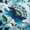 Blue Jacobean Christmas Card ©KarenSmith