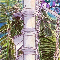Palm House Stairs Detail ©KarenSmith