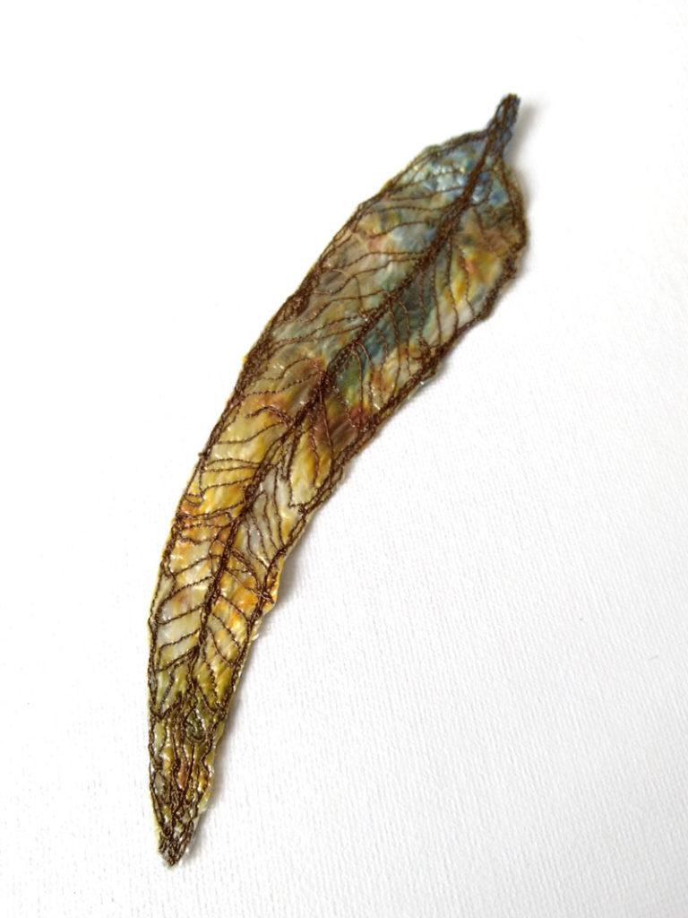 embroidered gum leaf 7 ©KarenSmith