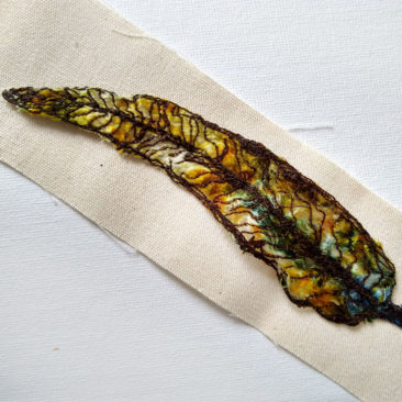 embroidered gum leaf 11 ©KarenSmith