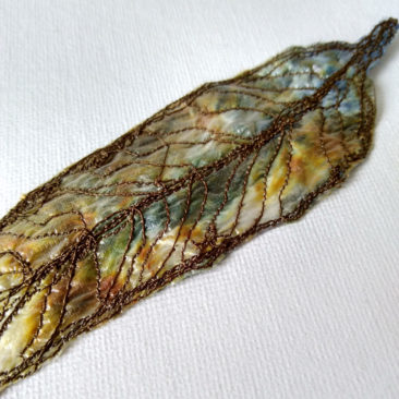 embroidered gum leaf 9 ©KarenSmith