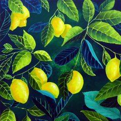 Lemons_Acrylic_1_sml ©KarenSmith