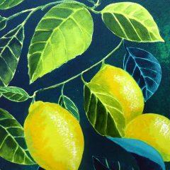 Lemons_Acrylic_3 ©KarenSmith