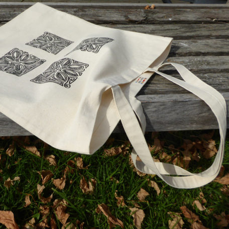Leaf Scroll ToteBag ©KarenSmith