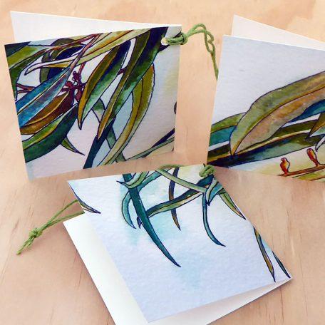 Gum Leaves Gift Tag ©KarenSmith