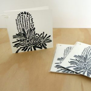 Banksia Woodblock Gift Cards – Pack of 3 FREE SHIPPING!
