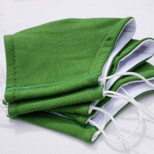 Medium Face mask Green 12 ©Karen Smith