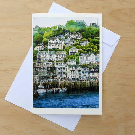 LooeHarbour1 Greeting Card ©KarenSmith